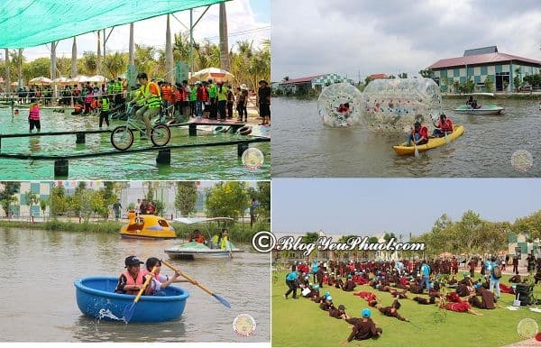 Khu du lịch Trường Huy, Vĩnh Long có trò chơi gì vui, hấp dẫn? Trò vui chơi, giải trí ở khu du lịch Trường Huy