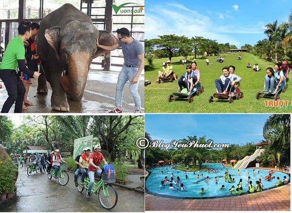 Kinh nghiệm đi chơi ở khu du lịch Vườn Xoài, Đồng Nai: Những trò vui chơi, giải trí hấp dẫn ở khu du lịch Vườn Xoài, Đồng Nai