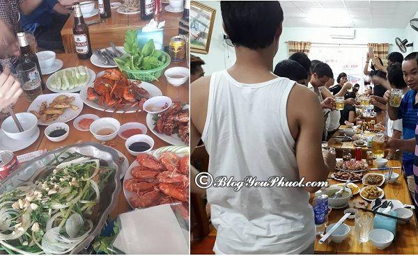 Nên ăn hải sản ở đâu khi du lịch biển Hải Tiến? Địa chỉ nhà hàng hải sản ngon, giá rẻ ven biển Hải Tiến
