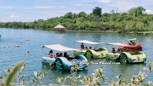 Trò vui chơi giải trí hấp dẫn trong khu du lịch Suối Mơ, Đồng Nai: Kinh nghiệm đi chơi, tham quan trong khu du lịch Suối Mơ, Đồng Nai