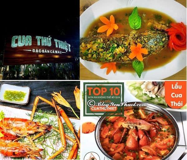 Cà Mau có quán ăn đặc sản nào ngon, giá rẻ? Địa chỉ nhà hàng ngon, nổi tiếng ở Cà Mau