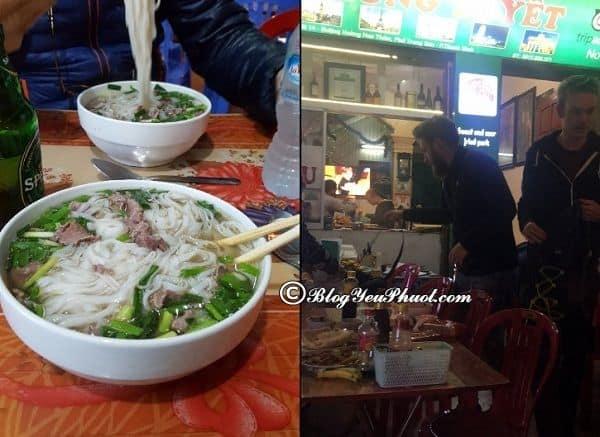 Địa điểm ăn uống ngon, giá bình dân ở Ninh Bình: Ninh Bình có quán ăn nào ngon, giá rẻ?