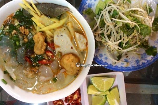 Địa điểm ăn uống ngon, nổi tiếng giá rẻ ở Quy Nhơn: Nên ăn ở đâu khi du lịch Quy Nhơn?