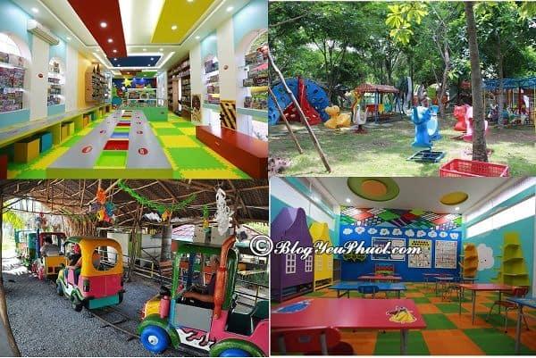 Kinh nghiệm đi vui chơi, ăn uống ở khu du lịch BCR Sài Gòn: Khu vui chơi, giải trí nổi tiếng, hấp dẫn ở khu du lịch BCR Sài Gòn