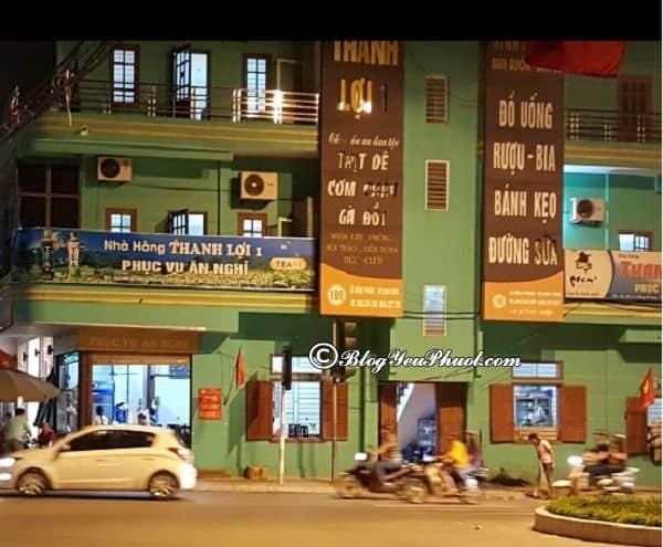Ninh Bình có quán ăn nào ngon, nổi tiếng? Địa chỉ ăn uống ngon, bổ, rẻ ở Ninh Bình