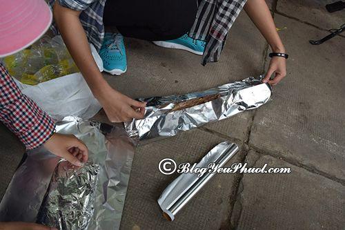 Cách làm thịt nướng ống bô cho dân phượt: Hướng dẫn tự làm món thịt nướng ốp bô khi đi phượt