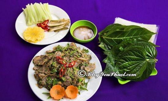 Ngọc Quán – Bê thui/ nhà hàng ăn uống tại Cao Bằng: Cao Bằng có quán ăn nào ngon, nổi tiếng?