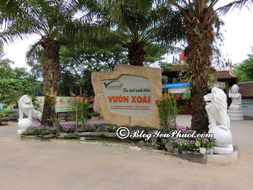 Nên đi đâu chơi khi du lịch Đồng Nai? Khu du lịch sinh thái Vườn Xoài - điểm thư giãn cuối tuần ở Đồng Nai