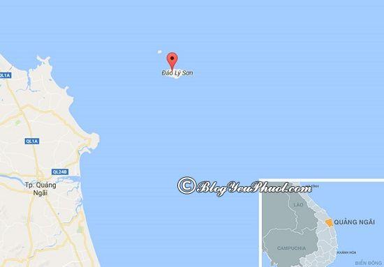 Lịch trình phượt đảo Lý Sơn 2 ngày 1 đêm: Kinh nghiệm đi chơi ở đảo Lý Sơn 2 ngày 1 đêm
