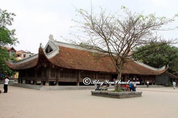 Ngôi chùa nổi tiếng ở Bắc Ninh: Du lịch Bắc Ninh nên đi đâu chơi, tham quan?