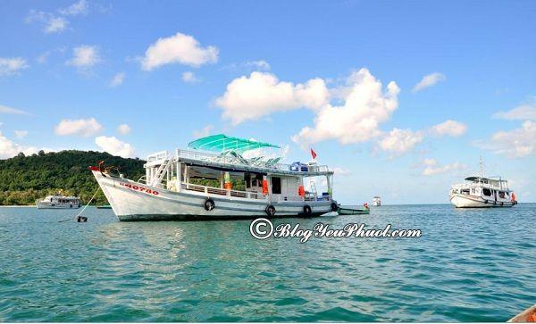 Lịch trình phượt đảo Nam Du 3 ngày 2 đêm