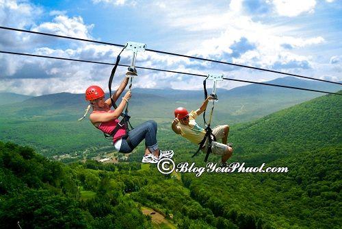 Trò chơi, dịch vụ tại Hòa Phú Thành: Kinh nghiệm đi tham quan, vui chơi ở thác Hòa Phú Thành