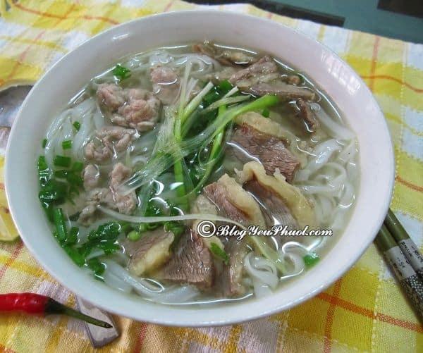 Ăn ở đâu khi du lịch Nam Định? Địa điểm ăn uống ngon, bổ, rẻ ở Nam Định