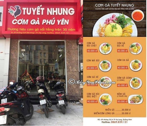 Địa chỉ ăn uống ngon, nổi tiếng ở Tuy Hòa, Phú Yên: Du lịch Tuy Hòa, Phú Yên nên ăn ở đâu?