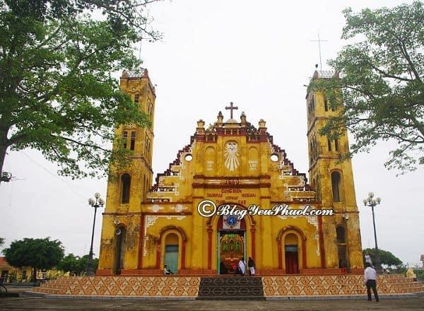Địa điểm du lịch độc đáo, hấp dẫn ở Nam Định: Nên đi đâu chơi khi du lịch Nam Định?