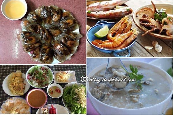 Kinh nghiệm ăn chơi khi du lịch biển Nhật Lệ, Quảng Bình: Nên ăn món gì, ăn ở đâu khi du lịch biển Nhật Lệ, Quảng Bình