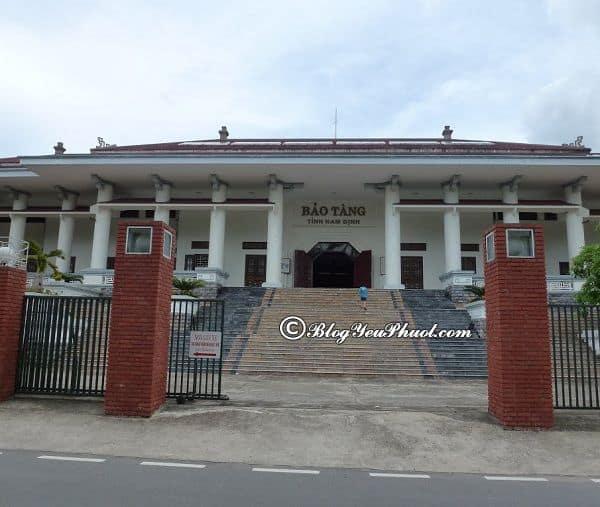 Nên đi đâu chơi khi phượt Nam Định? Địa điểm du lịch nổi tiếng ở Nam Định