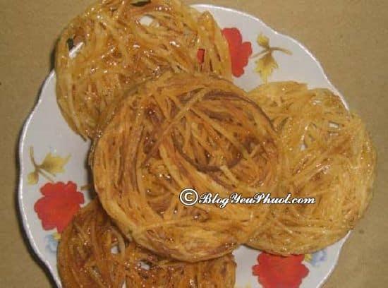 Bánh rế/ món ăn đặc sản Phan Thiết nên mua làm quà: Nên mua quà gì khi du lịch Phan Thiết?