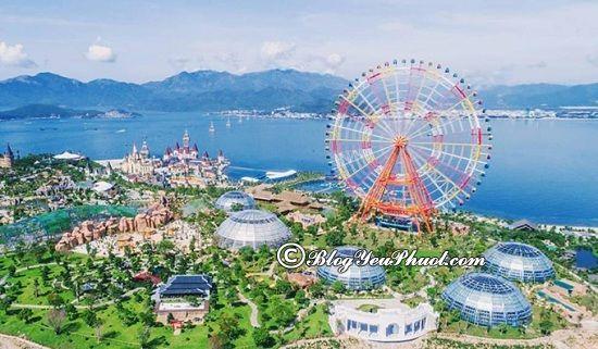 Chơi gì ởVinwonders Nha Trang? Khu du lịch Vinwonders Nha Trang có địa điểm du lịch nào đẹp, điểm vui chơi nào thú vị?