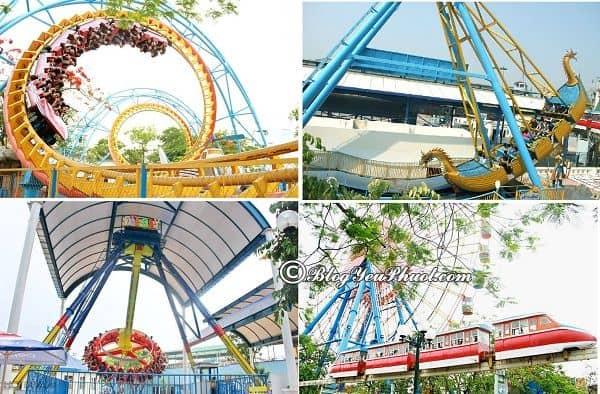 Công viên nước Hồ Tây, Hà Nội có gì chơi vui, thú vị: Những trò vui chơi, giải trí ở công viên mặt trời mới