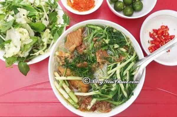 Du lịch Thái Nguyên nên ăn ở đâu? Địa chỉ quán ăn ngon, bổ, rẻ ở Thái Nguyên