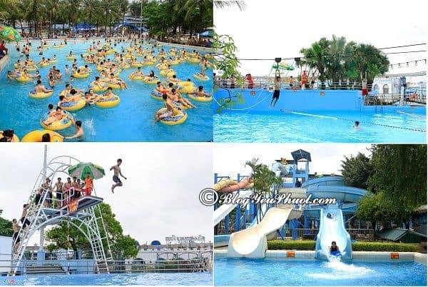 Kinh nghiệm du lịch công viên nước Hồ Tây, Hà Nội: Công viên nước Hồ Tây và công viên mặt trời mới có gì chơi vui, thú vị?