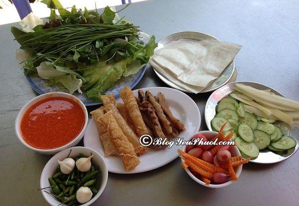 Món ăn đặc sản ngon, nổi tiếng ở Nha Trang: Du lịch Nha Trang nên ăn món gì?
