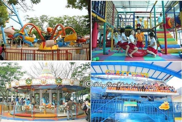 Những trò vui chơi, giải trí hấp dẫn ở công viên mặt trời Hồ Tây: Công viên mặt trời mới có gì chơi vui, thú vị?