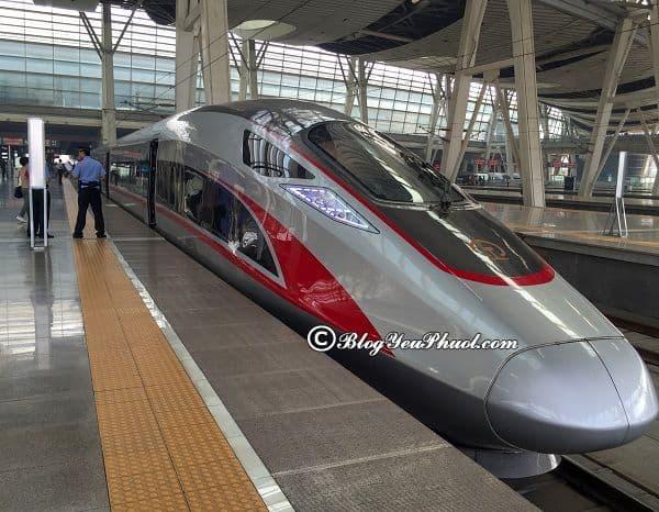 Hướng dẫn các cách di chuyển giữa Nam Ninh và Quảng Châu: Đi tàu cao tốc giữa Nam Ninh và Quảng Châu kèm giá vé