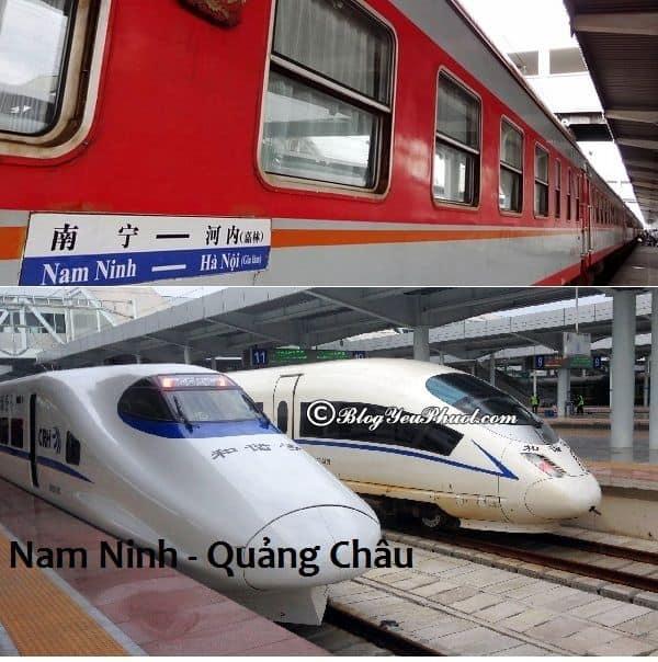 Đi Quảng Châu từ Hà Nội bằng tàu hỏa như thế nào? Các phương tiện đi Quảng Châu từ Hà Nội