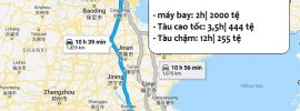 Hướng dẫn cách đi từ Bắc Kinh đến Nam Kinh & giá vé