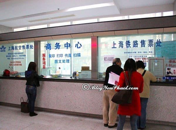 Mua vé tàu khi du lịch Trung Quốc ở đâu, như thế nào? Hướng dẫn các cách mua vé tàu khi đi du lịch Trung Quốc