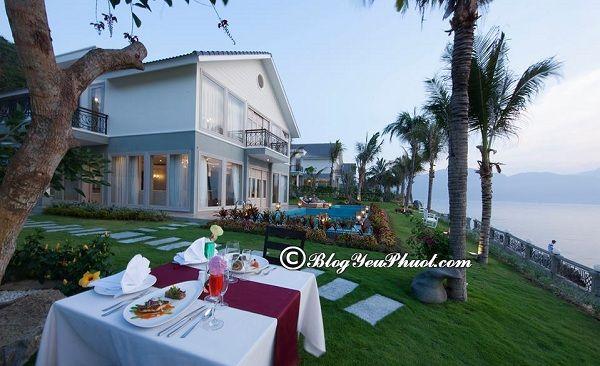 Du lịch Hòn Tằm, Nha Trang ở khách sạn, resort nào? Biệt thự ở Hòn Tằm, Nha Trang
