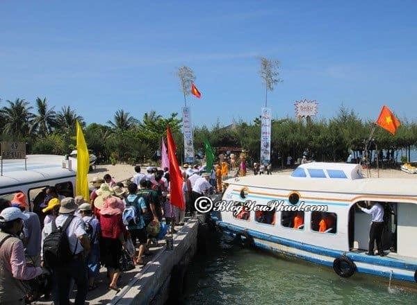 Hướng dẫn đi tham quan, vui chơi ở đảo khỉ Nha Trang: Hướng dẫn đi ra đảo khỉ Nha Trang bằng tàu/cano kèm giá vé