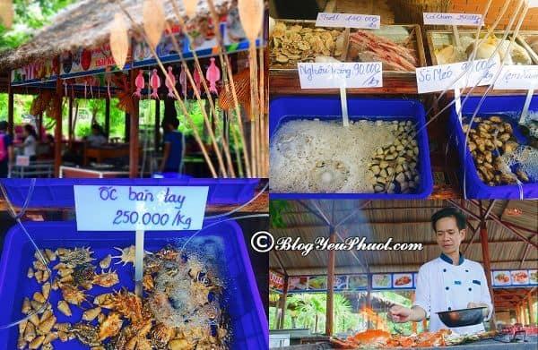 Kinh nghiệm ăn uống khi du lịch đảo khỉ Nha Trang: Ăn uống tại đảo khỉ Nha Trang như thế nào?