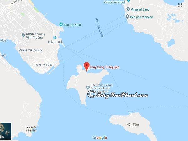 Kinh nghiệm du lịch thủy cung Trí Nguyên, Nha Trang: Du lịch hồ cá Trí Nguyên bằng phương tiện gì, giá vé bao nhiêu tiền?