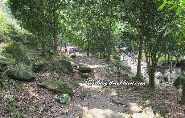 Kinh nghiệm tham quan, vui chơi, ăn uống ở thác Thăng Thiên: Danh lam cảnh đẹp ở thác Thăng Thiên, Hòa Bình
