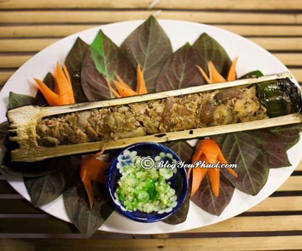 Món ăn đặc sản truyền thống ở Lai Châu: Du lịch Lai Châu nên ăn món gì? Lam Nhọ
