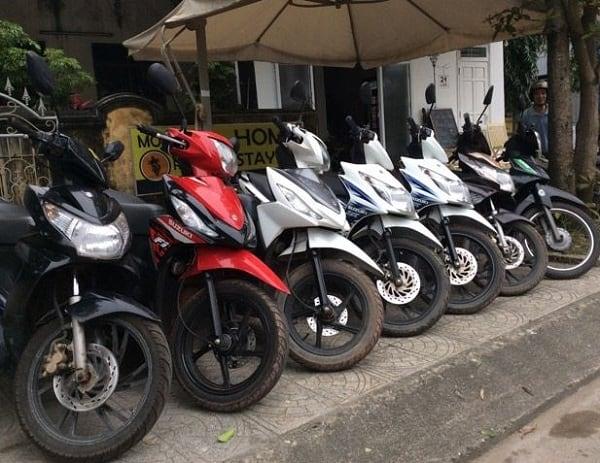 Kinh nghiệm thuê xe máy ở Hạ Long. Thuê xe máy ở đâu Hạ Long giá rẻ, uy tín?