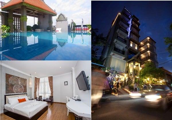 Du lịch Phnom Penh nên ở khách sạn nào? Khách sạn bình dân ở Phnom Penh