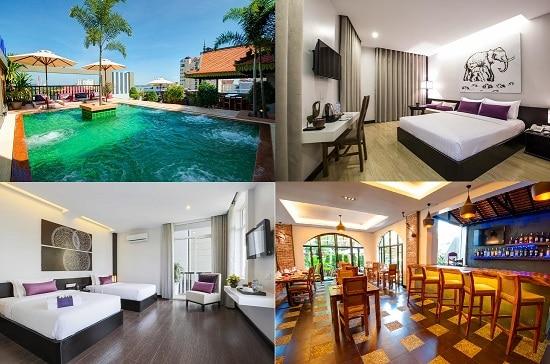 Du lịch Phnom Penh ở khách sạn nào đẹp, tiện nghi đầy đủ? Nên ở khách sạn nào Phnom Penh