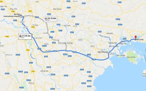 Hướng dẫn cách di chuyển từ sân bay Nội Bài đi Hạ Long: Từ sân bay Nội Bài đi Hạ Long như thế nào?
