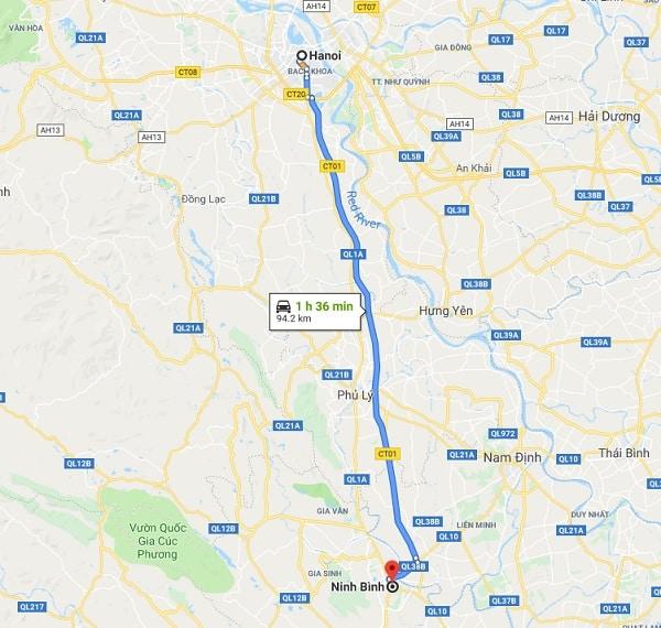 Kinh nghiệm du lịch Ninh Bình 1 ngày tự túc: Hướng dẫn đường đi Ninh Bình từ Hà Nội