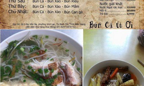 Quán ăn ngon ở Rạch Giá nổi tiếng, giá rẻ: Rạch Giá có quán ăn nào ngon, nổi tiếng?