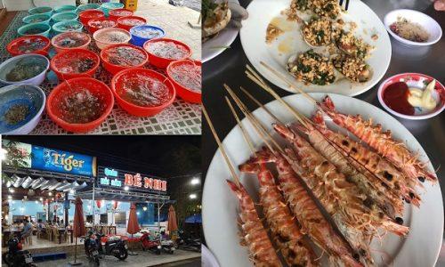 Địa chỉ quán hải sản ngon ở biển Cửa Đại giá rẻ
