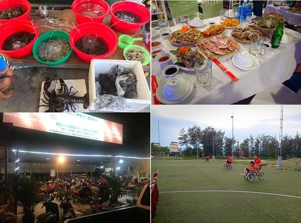 Nhà hàng hải sản ngon, giá rẻ ở biển Hải Hòa, Thanh Hóa: Biển Hải Hòa có nhà hàng hải sản nào ngon, giá bình dân?