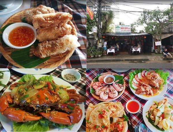 Quán hải sản ngon ở biển Cửa Đại: Biển Cửa Đại có nhà hàng hải sản nào ngon?