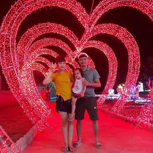 Review công viên ánh sáng Pha Luông, Mộc Châu