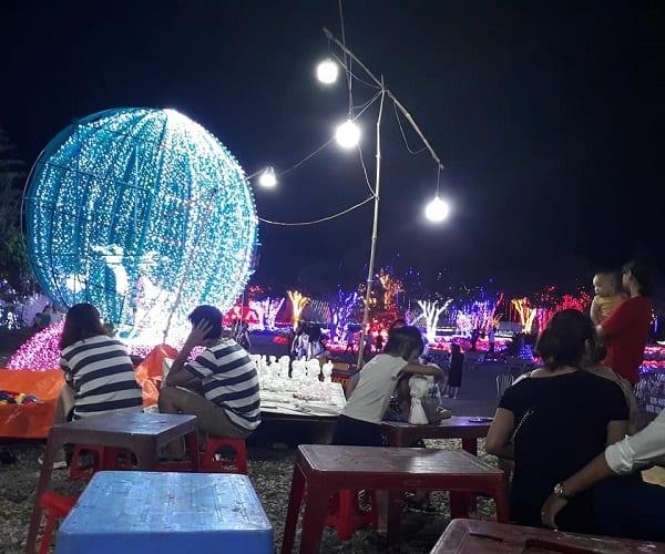Review công viên ánh sáng Pha Luông, Mộc Châu chi tiết