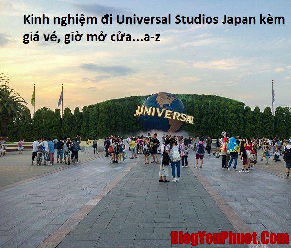 Kinh nghiệm đi chơi Universal Studios Japan. Thông tin giá vé, địa chỉ, giờ mở cửa của Universal Studios Nhật Bản